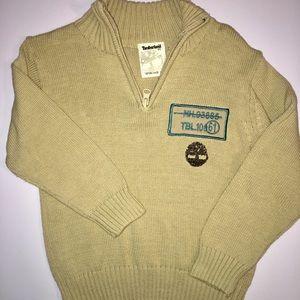 Boy's 3T Timberland Khaki Sweater